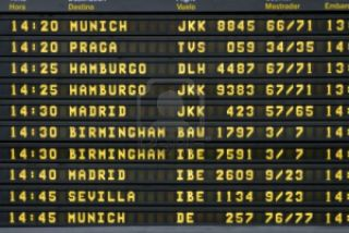 tableau départs tour du monde