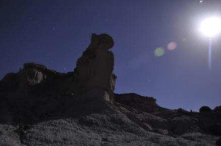 El Valle de la Luna Ischigualasto Olympiaonboard