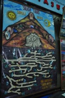 Plan de la mine de Potosi, Bolivie