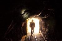 Tunnel mine de Potosi, Bolivie