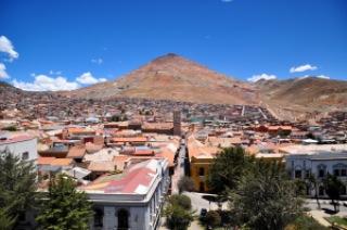 Cerro Rico, Potosi, Cerro Rico, Bolivie
