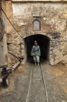 Sortie de la Mine de Potosi, Bolivie