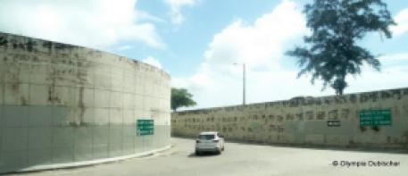 Rampe d'accès à la jonction vers Samana