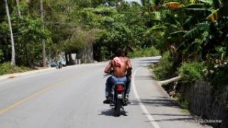 Sur la route pour Las Galeras