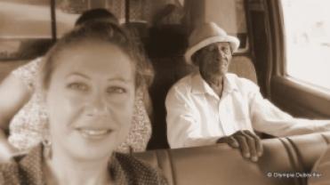 dans la guagua vers Las Galeras