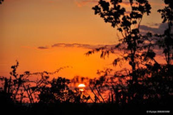 Coucher de soleil a Punta Rucia