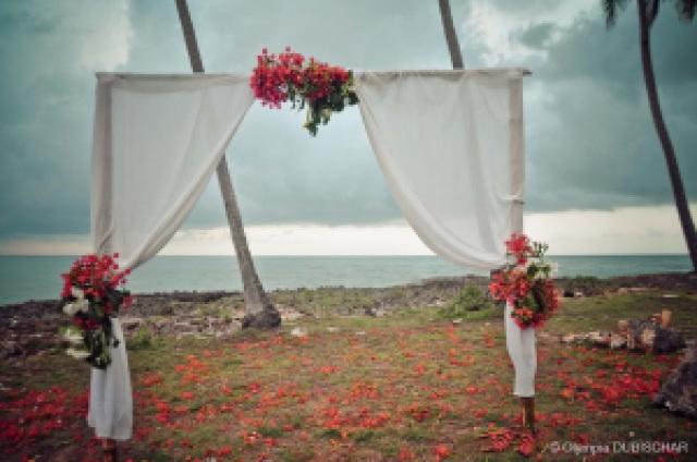 Mariage Las Galeras Samana wedding Domincan Dominicaine