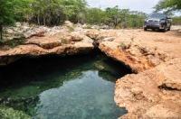 Ojos de agua (cenotes) sur la route de Pedernales en République Dominicaine