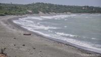 Plage sable noir Dunes de Bani, Peravia en République Dominicaine