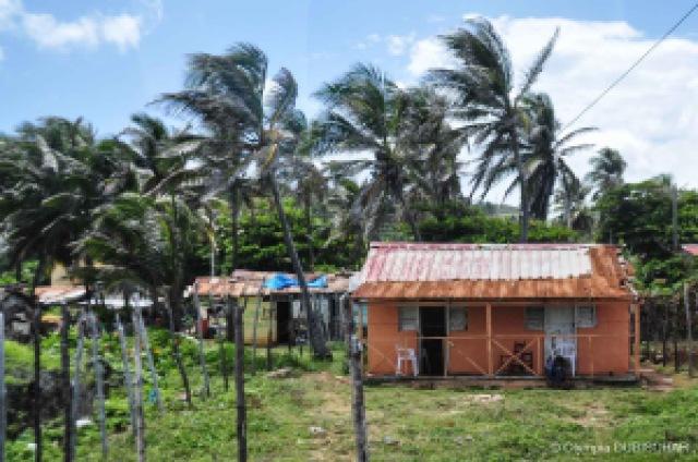 Sur la route de Barahona en République Dominicaine